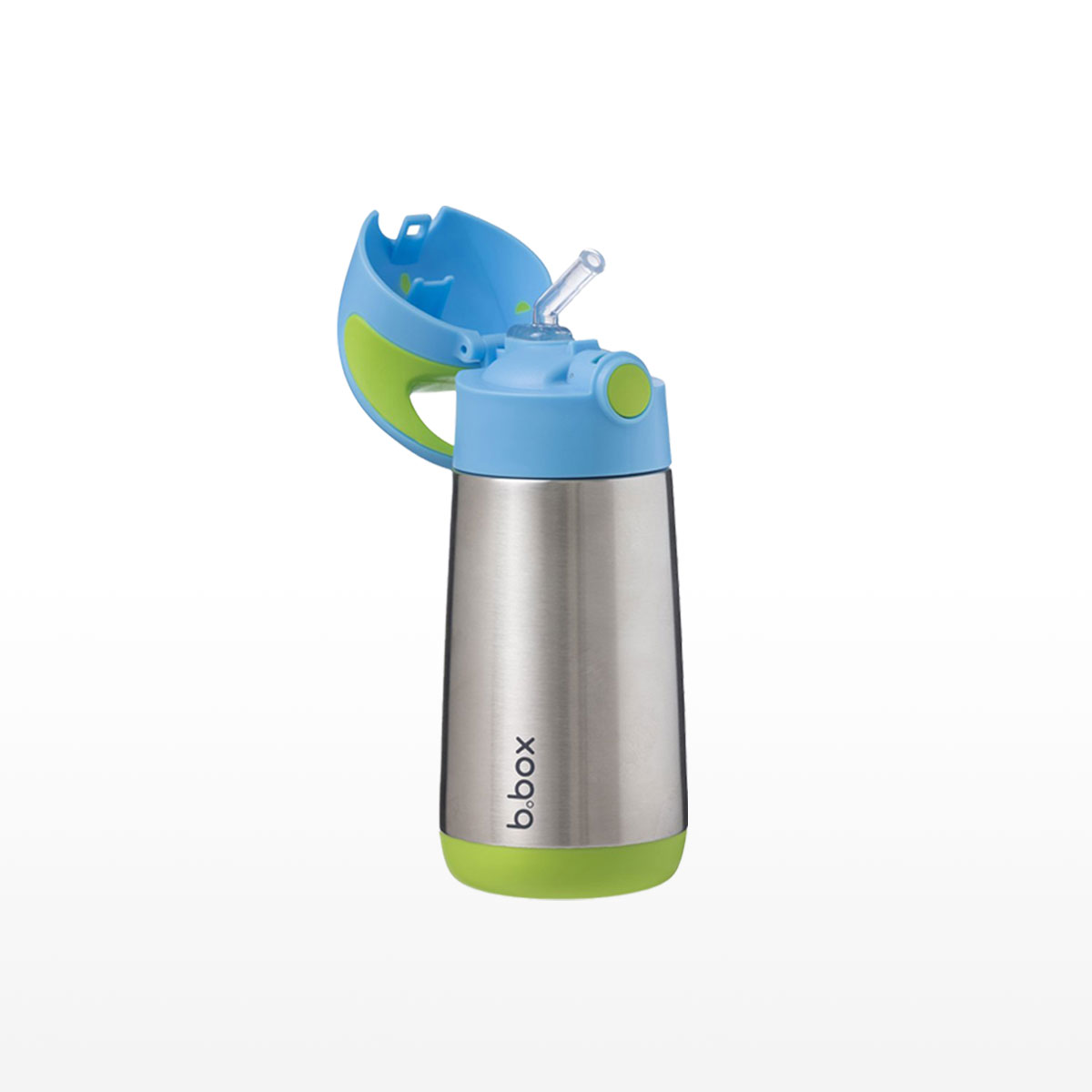B.box Blue Insulated Bottle 350ml