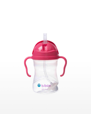 B.box Red Sippy Cup 240ml