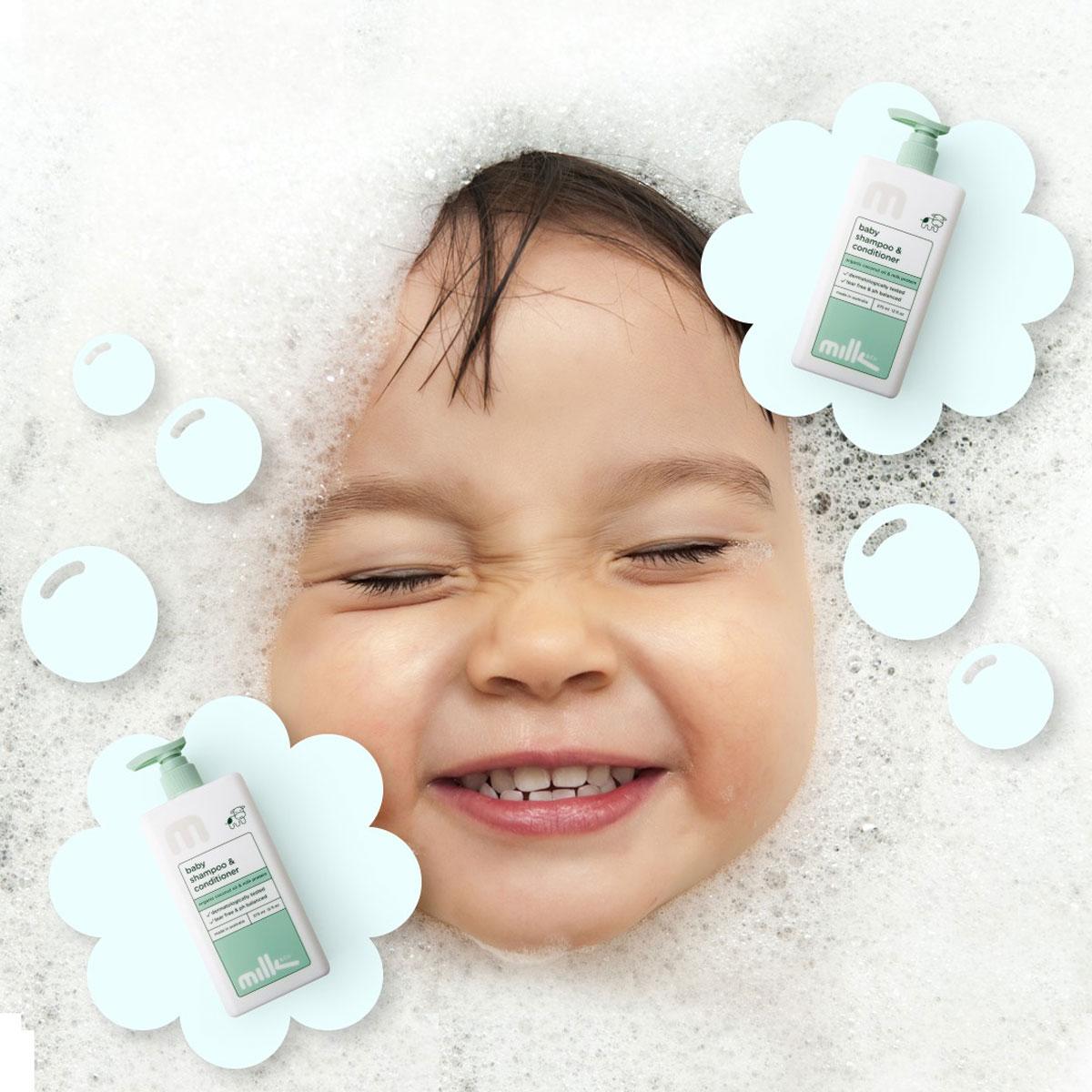 Milk & Co Baby Shampoo & Conditioner 375mL