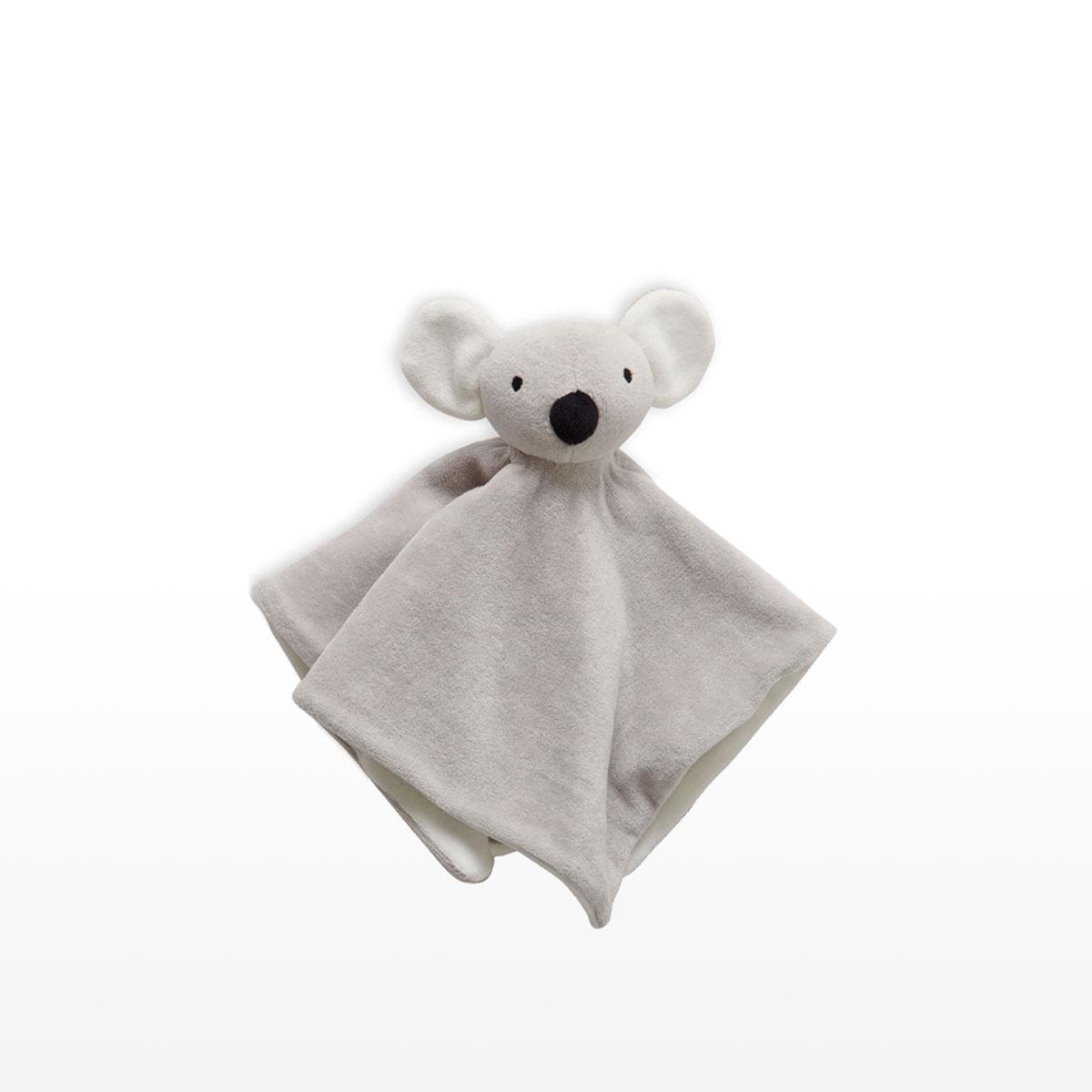 Purebaby Koala Snookie Grey Comforter 35 x 35cm