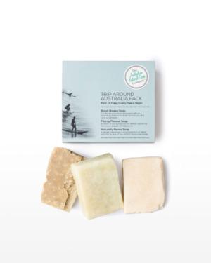 The Australian Natural Soap Company Trip Around Australia Pack 100g x 3