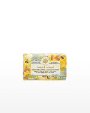 Wavertree & London Honey and Almond Soap Bar 200g