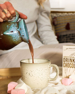 Grounded Pleasures Original Drinking Chocolate 200g + Exquisite Marshmallows 140g | Purveyors of Fine Cocoa & Marshmallows