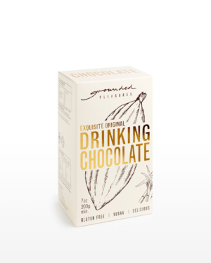 Grounded Pleasures Original Drinking Chocolate 200g | Purveyors of Fine Cocoa & Marshmallows