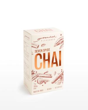 Grounded Pleasures Seven Spices Sri Lankan Chai 200g     Purveyors of Fine Cocoa & Marshmallows
