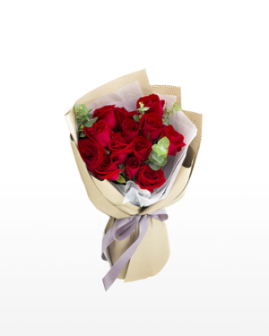 13 Red Roses Bouquet