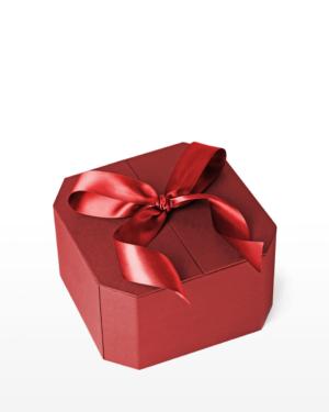 Red Ribbon Gift Box
